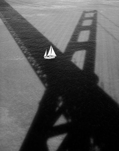 Stu Levy, 'Golden Gate Bridge #176 (Sailboat & Shadow)', 1994, Gallery 270