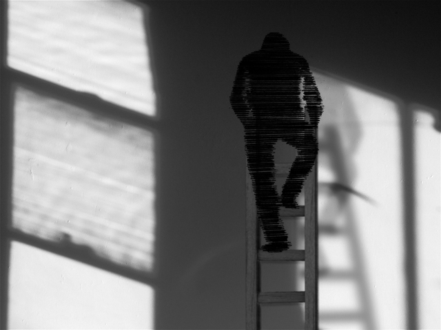 , 'man in camera (Study for a Self-Portrait),' 2016, Mori Art Museum