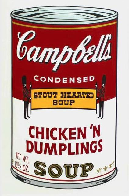 Andy Warhol, 'Campbell's Soup: Chicken n' Dumplings', 1968, Taglialatella Galleries