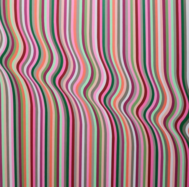 , 'Zip Painting,' 2014, Galleria GUM