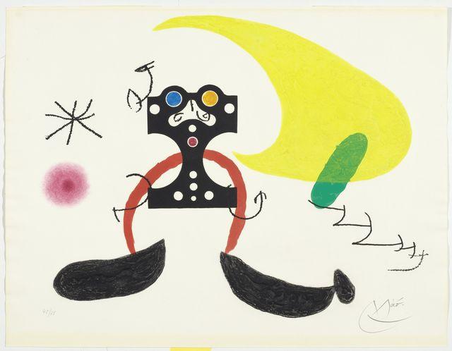 Joan Miró, 'Le Cosmonaute', 1969, Koller Auctions