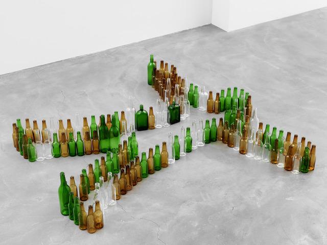 , 'Bottle Man (Diagonally),' 2017, Galerie Eva Presenhuber