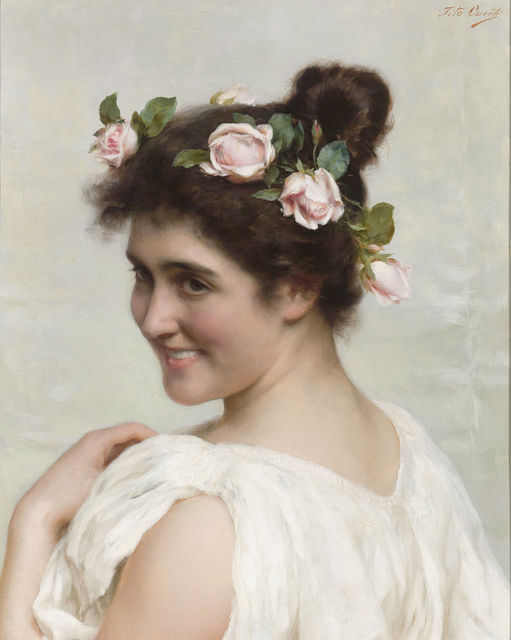 , 'An Italian Beauty,' 19th Century, M.S. Rau Antiques