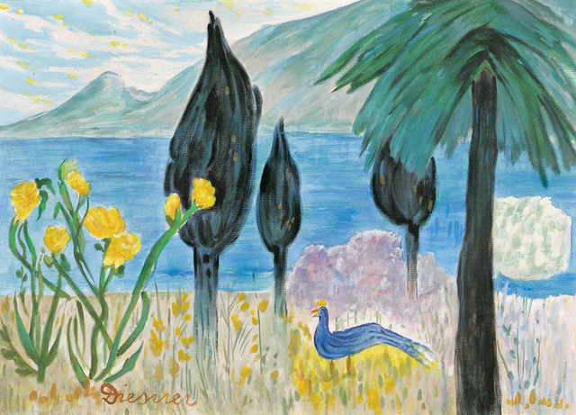 , 'Landscape with Blue Bird,' , Galerie Bei Der Albertina Zetter