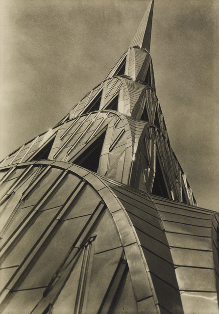 , 'Chrysler Building: Tower,' 1930, de Young Museum