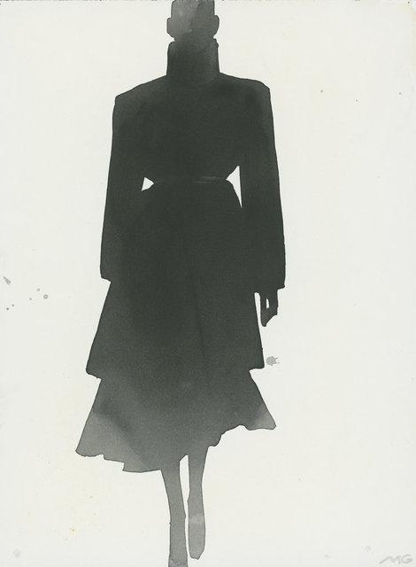 , 'Black Coat (Anna Molinari),' 1999, CFHILL