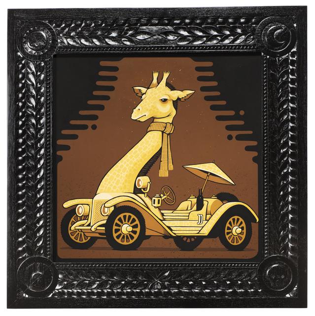 , '1913 Mercer Giraffe,' 2017, Jonathan LeVine Projects