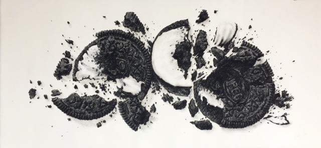 Soojin Kim, 'Cracked Oreo Series NO. 9', 2017, Tao Water Art Gallery