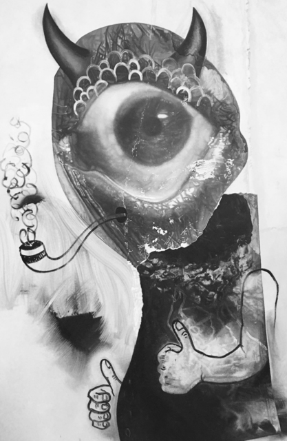 Eric Helvie, 'Pipe Smoker (Cyclops)', 2017, Massey Klein Gallery
