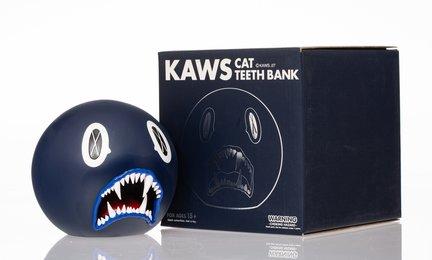 Cat Teeth Bank (Navy)
