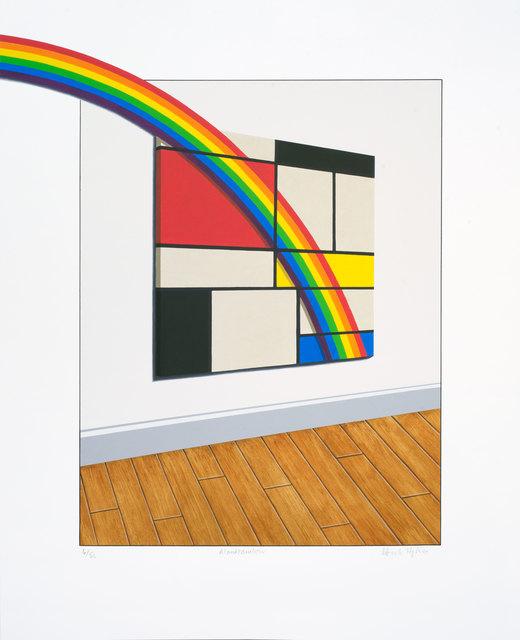 , 'Mondrainbow,' 2018, Bridgeman Editions