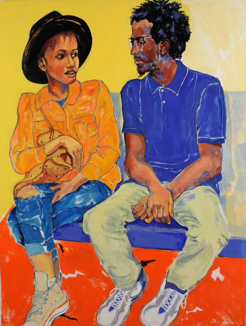 , 'Conversation,' 2018, Denise Bibro Fine Art