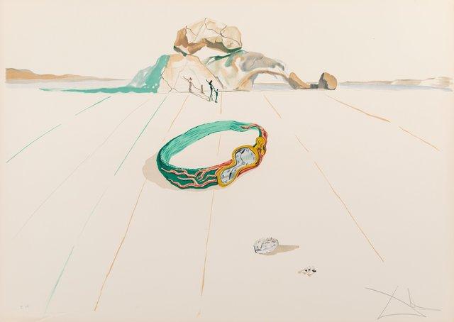 Salvador Dalí, 'Desert Bracelet, from Time', 1976, Heritage Auctions
