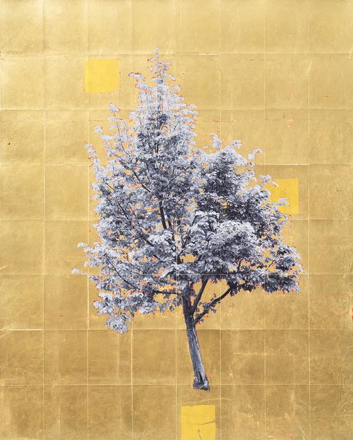 , 'Gold Leaf Tree No. 048,' 2018, Richard Levy Gallery