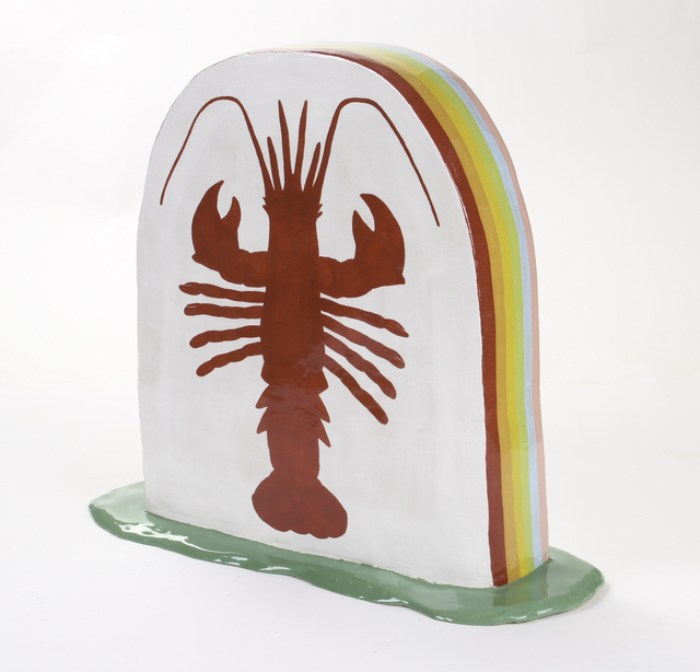 , 'Lobster Tombstone,' 2017, Ochi Projects