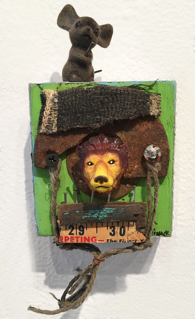 , 'Lions, Tigers, Bears, Oh My,' 2017, BoxHeart