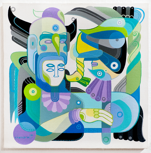 Fernando Chamarelli, 'Mergulhador com Rabo de Peixe (The Diver with Fish Tail)', 2016, Painting, Acrylic on canvas, ANNO DOMINI