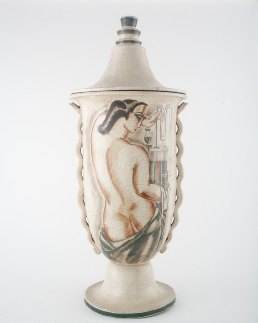 , 'Monumental Lidded Vase,' ca. 1928, Jason Jacques Gallery