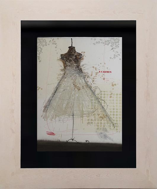 , 'Mi pintura vestida de mujer VI,' 2017, Lux Perpetua Art Centre