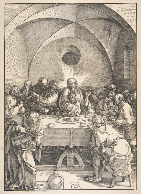 , 'The Last Supper, from The Large Passion,' 1471-1528, Seattle Art Museum