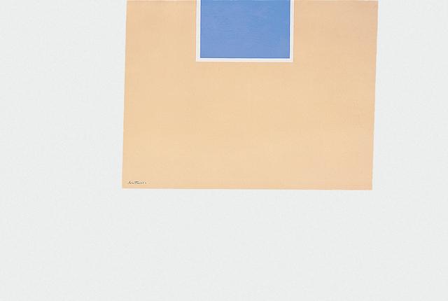, 'London Series II: Untitled (Blue/Tan),' 1971, Marlborough Gallery