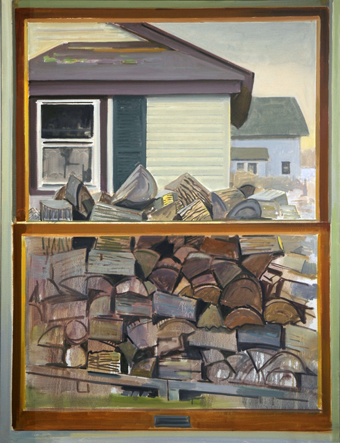Richard Kirk Mills, 'Winter Firewood', 2019, Blue Mountain Gallery