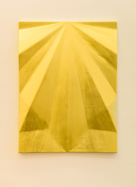, 'Unfolded gold: Concord peak,' 2015, Galerie Laurent Godin