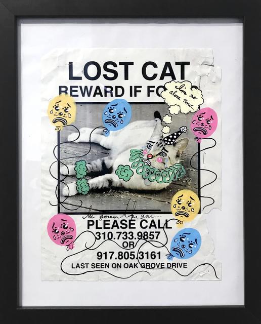 , 'Sad Lost Pet (???),' 2018, La Luz de Jesus Gallery