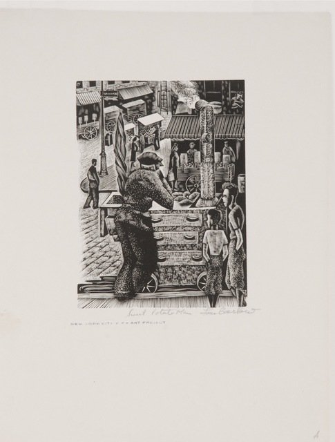 , 'Sweet Potato Man,' ca. 1935, Sragow Gallery