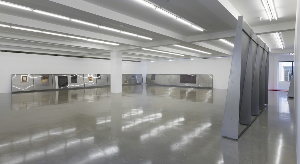 Installation view, Thea Djordjadze, if I were an early person, Sprüth Magers, Los Angeles, April 9 - June 1, 2019. © The Djordjadze, Courtesy the artist and Sprüth Magers; Photo: Robert Wedemeyer
