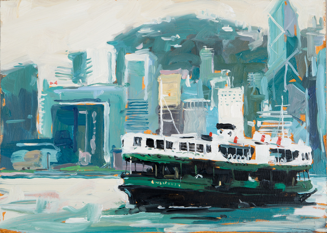 , 'The Star Ferry, Hong Kong,' 2014, DELAHUNTY