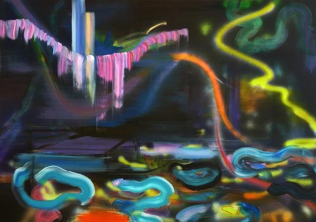 , ' Night Swimming Requires a Quiet Night,' 2015, Galerie Sandhofer
