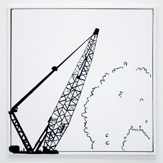 , 'Ben Jones Comics Panel #4 (Crane),' 2016, The Hole
