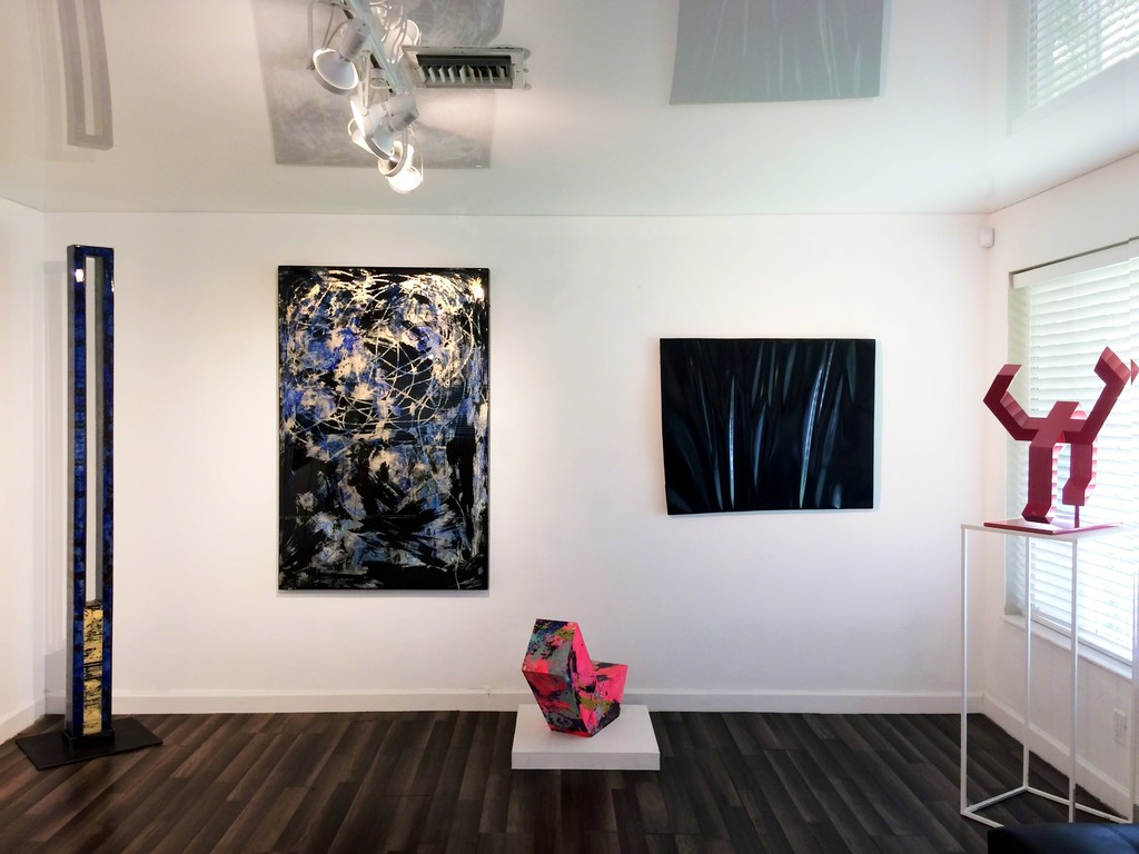 """Shifting States"", installation view at Waltman Ortega Fine Art 