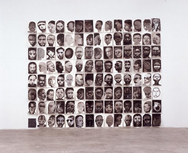 , 'Black Drawings,' 1991, Galerie Isabella Czarnowska