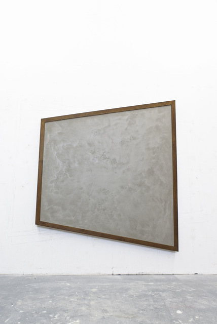""", '""""Piece of wall, concrete #5"""",' 2013, the Goma"""