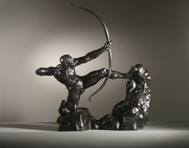 Emile-Antoine Bourdelle, 'Hercules the Archer', 1909, Sculpture, Bronze, Sladmore
