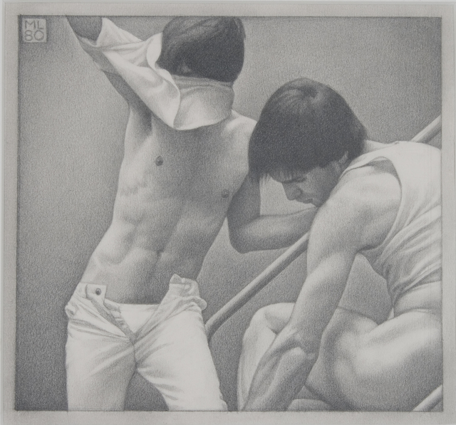 , 'On the Steps I,' 1980, Forum Gallery