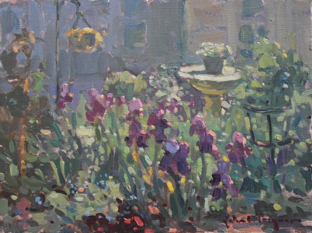 , 'Iris Garden,' , J. Cacciola Gallery