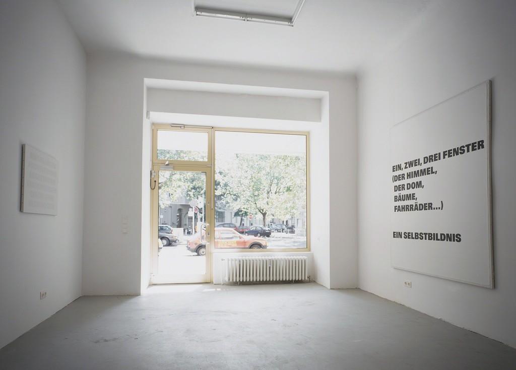 Remy Zaugg, Installation view