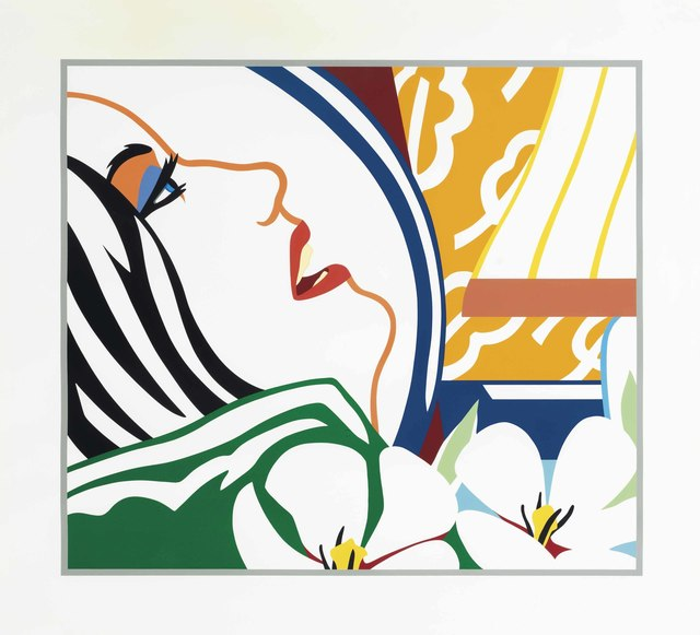 Tom Wesselmann, 'Bedroom Face with Orange Wallpaper', 1987, Christie's