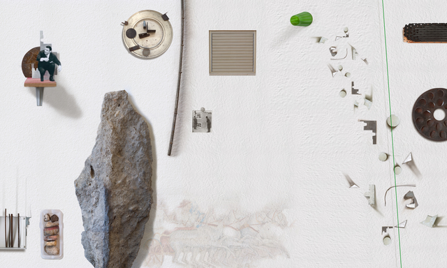 , 'Room #8, Wall no. 3,' 2011, Meislin Projects
