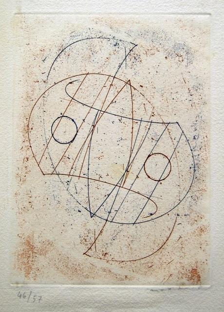Max Ernst, 'Obliques', 1967, Wallector