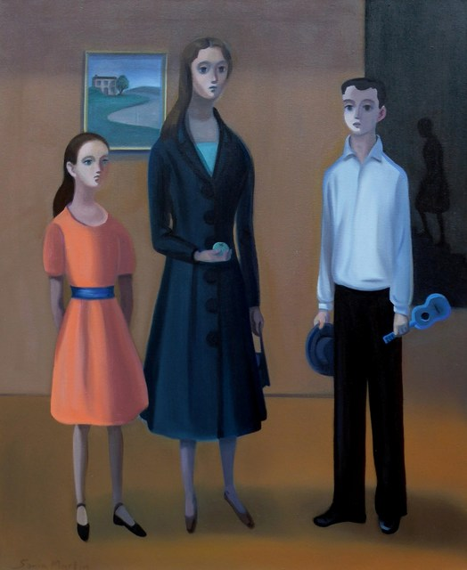 Sonia Martin, 'Leaving party', 2017, Painting, Oil on canvas, Maggio Art Consultancy