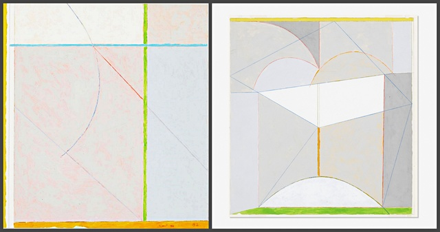 James Rosati, 'Untitled Geometric Abstraction', 1982, Alpha 137 Gallery