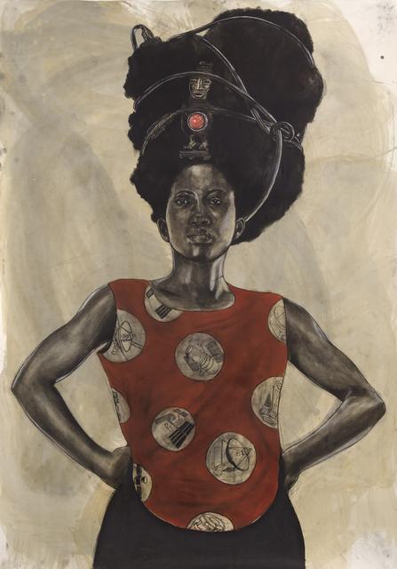 , 'Woman with Halo,' 2015, Koplin Del Rio