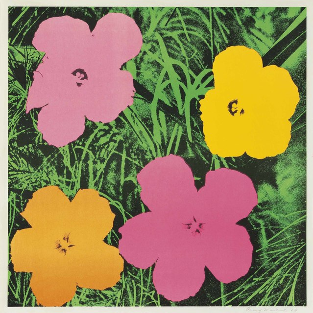 Andy Warhol, 'Flowers', 1964, Print, Offset lithograph in colors, on wove paper, Christie's