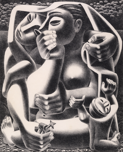 , 'Where?,' 1950, Stone + Press Gallery