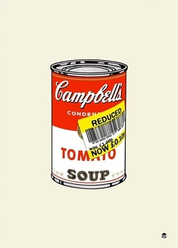 , 'Reduced Soup Can,' 2016, End to End Gallery