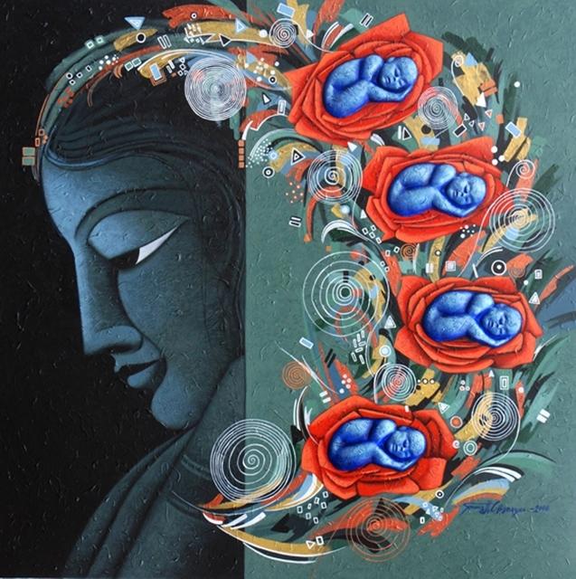Somnath C Banerjee, 'The New Expectation ', 2008, Arushi Arts